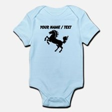 Custom Black Horse Body Suit