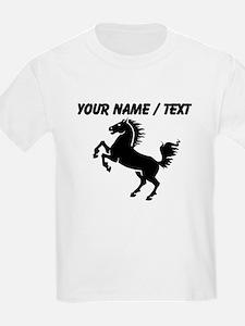 Custom Black Horse T-Shirt