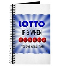 winning lotto numbers Journal