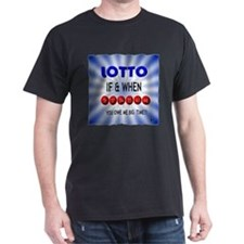 winning lotto numbers T-Shirt