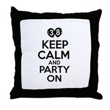 Funny 38 year old gift ideas Throw Pillow