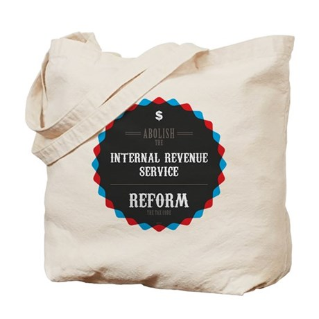 Reform The Tax Code Tote Bag