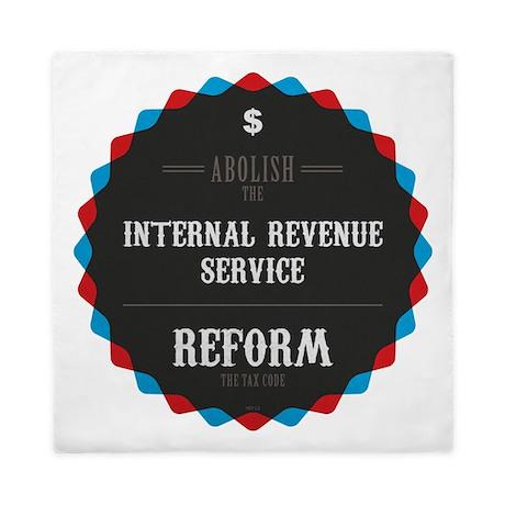 Reform The Tax Code Queen Duvet
