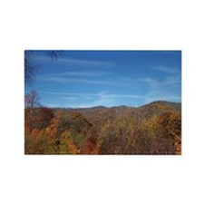 Fall Colors - NC / TN Mountains Rectangle Magnet