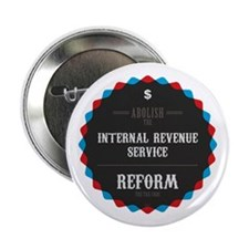 "Reform The Tax Code 2.25"" Button"