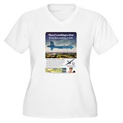 Obama Airways Plus Size T-Shirt
