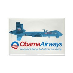 Obama Airways Rectangle Magnet (100 pack)