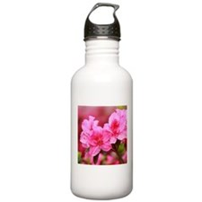 Pink azaleas Water Bottle