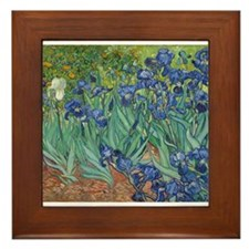 Vincent van Gogh - Irises Framed Tile