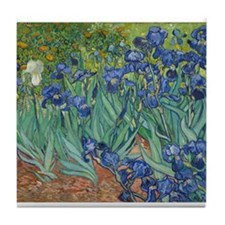 Vincent van Gogh - Irises Tile Coaster