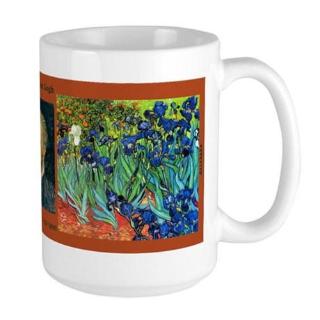 Vincent van Gogh - Irises Large Mug