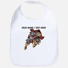 Custom Roman Warrior Mascot Bib