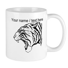 Custom Angry Tiger Mug