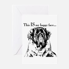 Charcoal 1 Greeting Cards (Pk of 10)