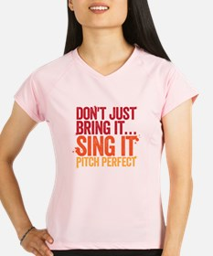 sing it Peformance Dry T-Shirt