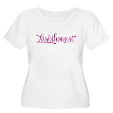 lesbihonest Plus Size T-Shirt