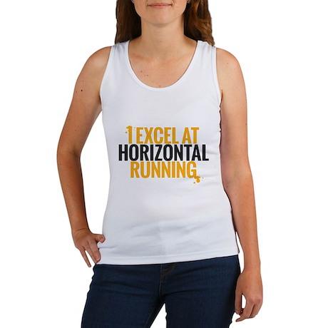 horizontal running Tank Top
