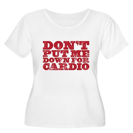 cardio Plus Size T-Shirt