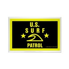 U.S. SURF PATROL Rectangle Magnet