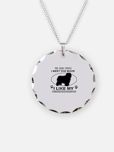 Polish Lowland Sheepdog lover designs Necklace