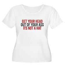 not a hat Plus Size T-Shirt