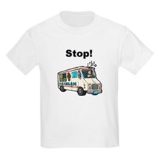 Ice Cream Truck Ash Grey T-Shirt