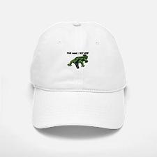 Custom Angry Alligator Baseball Baseball Baseball Cap