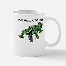 Custom Angry Alligator Mug