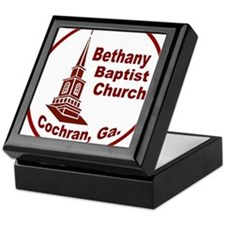 Bethany Baptist Church, Cochran, Ga. Keepsake Box
