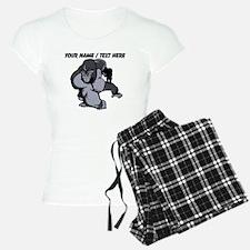 Custom Gorilla Mascot Pajamas