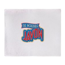 The Incredible Javon Throw Blanket