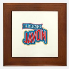 The Incredible Javon Framed Tile
