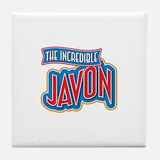 The Incredible Javon Tile Coaster