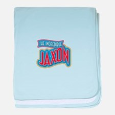 The Incredible Jaxon baby blanket