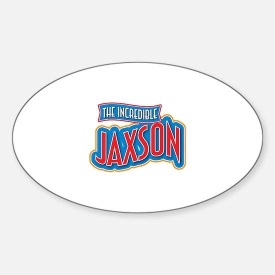 The Incredible Jaxson Decal