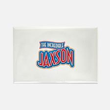 The Incredible Jaxson Rectangle Magnet