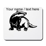 Honey badger cartoon Classic Mousepad