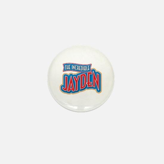The Incredible Jayden Mini Button