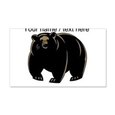 Custom Black Bear Wall Decal