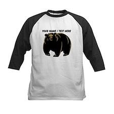 Custom Black Bear Baseball Jersey