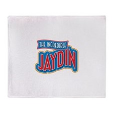 The Incredible Jaydin Throw Blanket