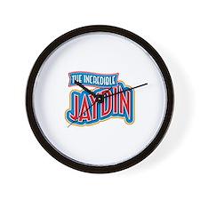 The Incredible Jaydin Wall Clock