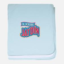 The Incredible Jaydin baby blanket