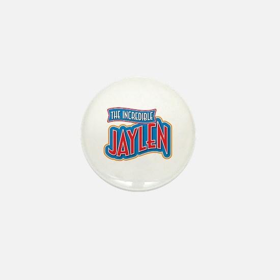 The Incredible Jaylen Mini Button
