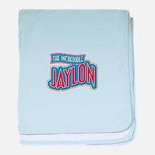 The Incredible Jaylon baby blanket