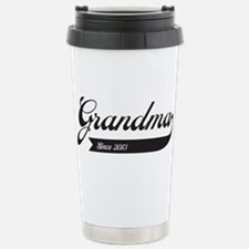 Grandma Swoosh Since 2013 Travel Mug