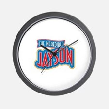 The Incredible Jayson Wall Clock
