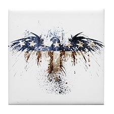 The Real American Eagle Tile Coaster