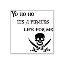 Yo Ho Ho Rectangle Sticker
