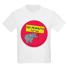NO PEANUTS for me - allergy a T-Shirt